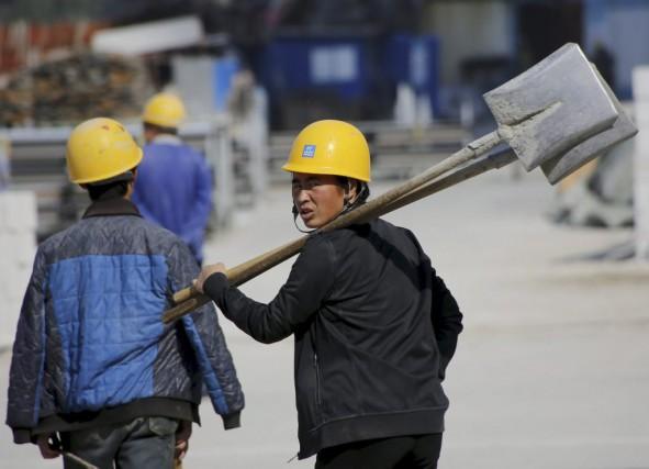 Alors que la croissance chinoise avait glissé en... (PHOTO KIM KYUNG-HOON, REUTERS)