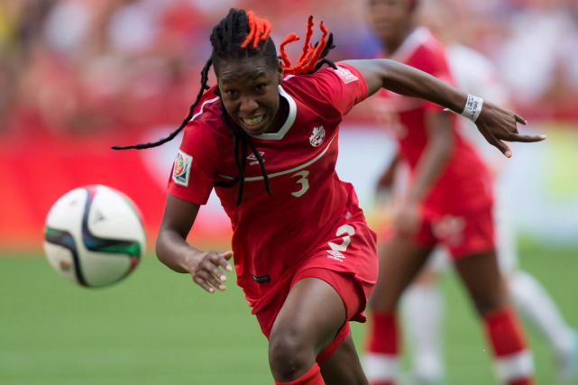 La défenseuse centrale de 20 ans Kadeisha Buchanan... (Photo Darryl Dyck, archives PC)