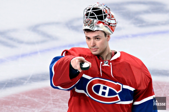 Carey Price n'a accordé que trois buts en... (Photo Bernard Brault, La Presse)