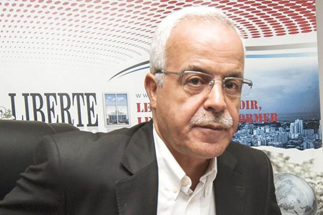 Le ministre algérien de la CommunicationHamid Grine.... (PHOTO ARCHIVES LIBERTÉ)