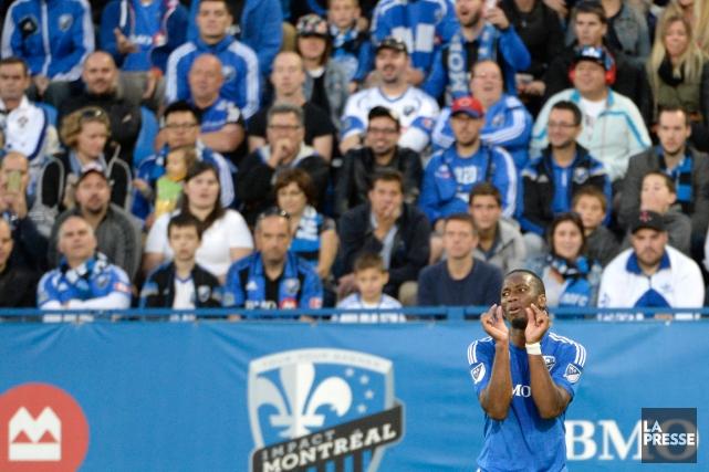 Didier Drogba... (Photo Bernard Brault, La Presse)