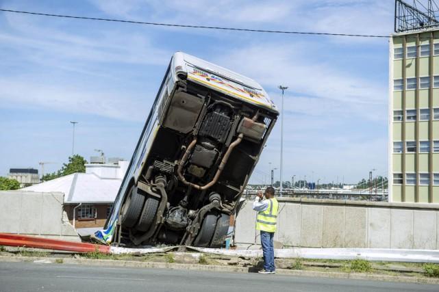 C'est en Afrique que les accidents de la... (PHOTO MUJAHID SAFODIEN, ARCHIVES AFP)