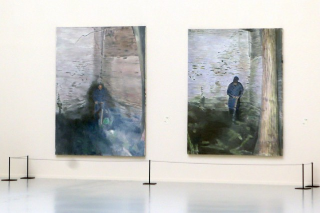 Une rétrospective de 100 tableaux et 80 dessins du peintre contemporain belge... (PHOTO AFP)