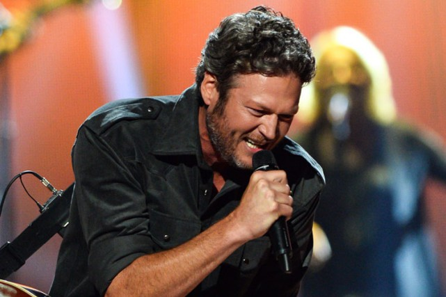 Blake Shelton... (PHOTO AP)