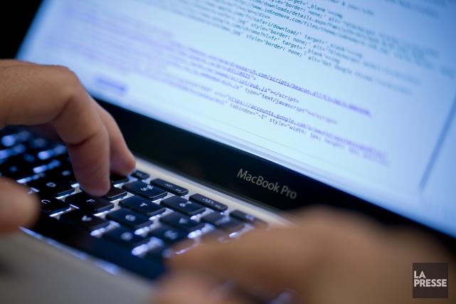 CrowdStrike, une firme de sécurité informatique, dit avoir... (PHOTO DAVID BOILY, ARCHIVES LA PRESSE)