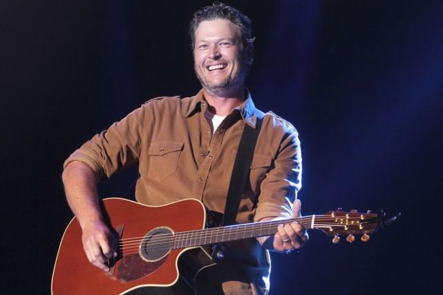 Le chanteur country Blake Shelton a déposé une... (Associated Press)