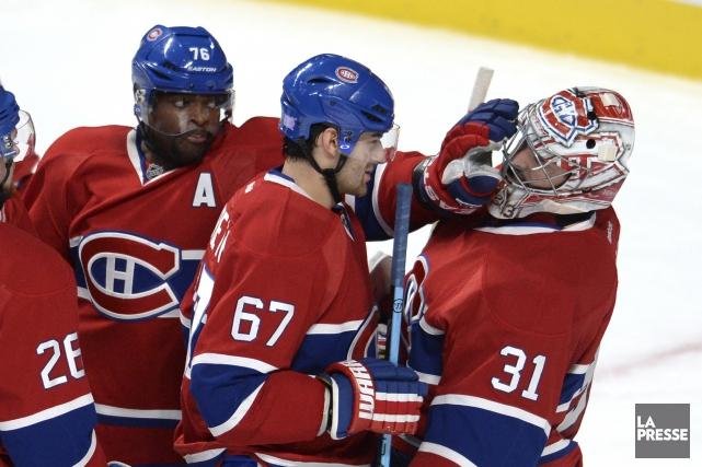 Le Canadien compte sur trois super étoiles en... (Archives La Presse)