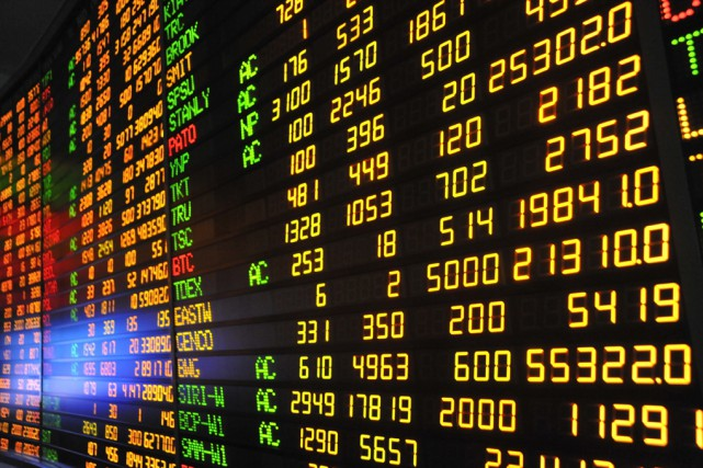 Le Bourse de Toronto a clôturé en baisse... (archives 123RF)