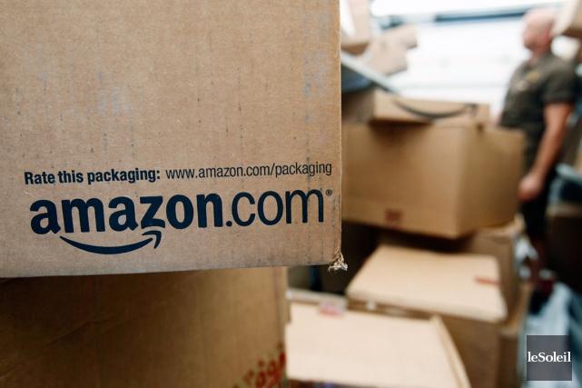 Amazon a porté plainte aux Etats-Unis contre plus... (Photothèque Le Soleil)