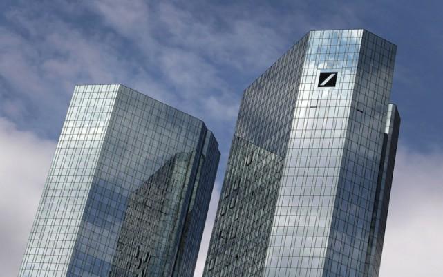 Deutsche Bank a été impliqué dans la plupart... (PHOTO ARCHIVES AFP)