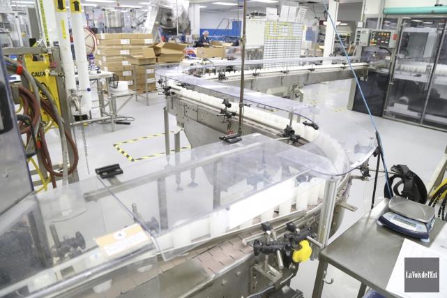 KDC, qui opère une usine à Lac-Brome, a... (photo archives La Voix de l'Est)
