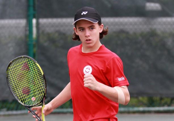 Malgré ses 14 ans, le Baieriverain Alex-Antoine Marquis... (Photo courtoisie)
