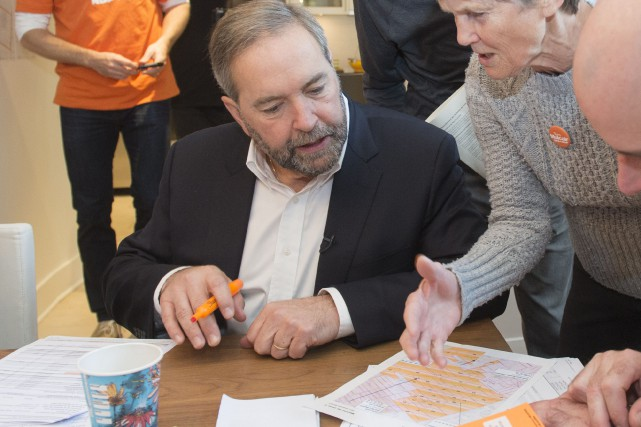 Tom Mulcair... (Photo PC)