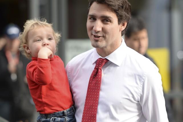 À l'inverse de Thomas Mulcair, Justin Trudeau (ici... (La Presse Canadienne, Sean Kilpatrick)