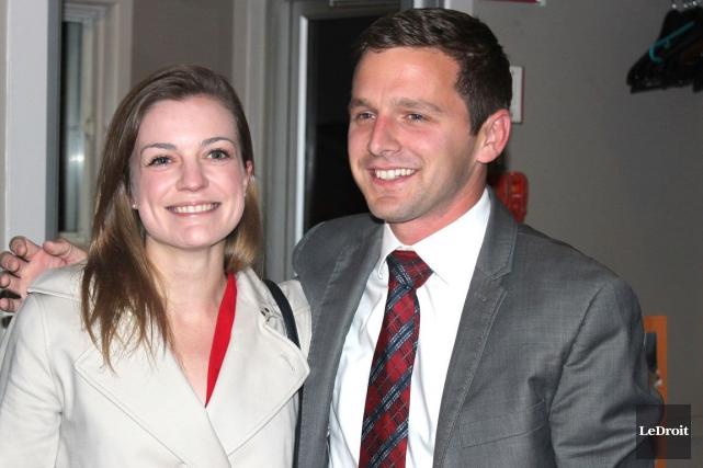 Le nouveau député libéral de Glengarry-Prescott-Russell, Francis Drouin... (Martin Brunette, LeDroit)