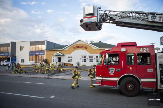 Le Service de sécurité incendie aura un nouveau... (Photo: Olivier Croteau, Le Nouvelliste)