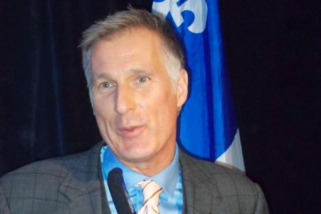 Maxime Bernier était heureux d'être réélu dans la... (Jolyne Rodrigue)