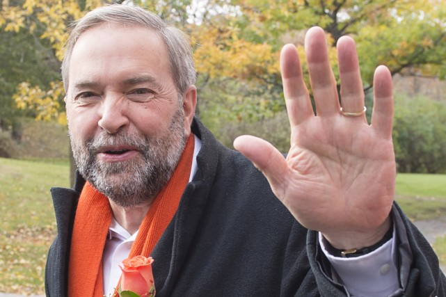 Thomas Mulcair... (Presse Canadienne)