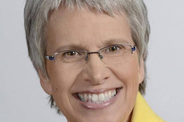 Brigitte Sansoucy, du Nouveau Parti démocratique.... (Tirée de Facebook)