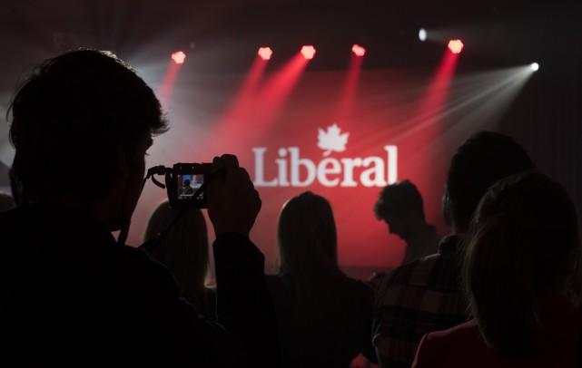 Si la victoire du Parti libéral du Canada (PLC) était attendue, l'ampleur de... (La Presse Canadienne, Justin Tang)