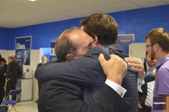 Devant l'ampleur de la défaite des troupes conservatrices,... (Photo Le Quotidien, Louis Potvin)