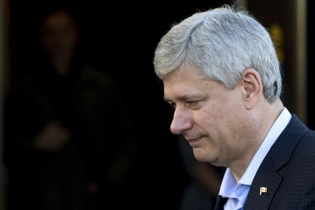 Stephen Harper... (Photo: La Presse Canadienne)
