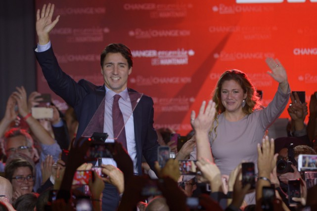 En élisant de nombreux députés libéraux, le Québec... (Photo: La Presse Canadienne)
