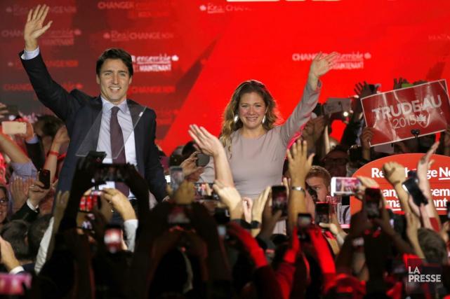 Le nouveau premier ministre du Canada Justin Trudeau... (Photo Martin Tremblay, La Presse)
