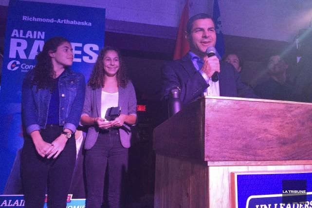 En tant que nouveau député conservateur, Alain Rayes... (La Tribune, Alexandre Faille)