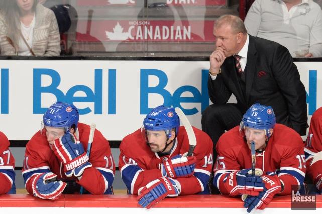 Bien que son équipe connaisse de loin son... (Photo Bernard Brault, La Presse)