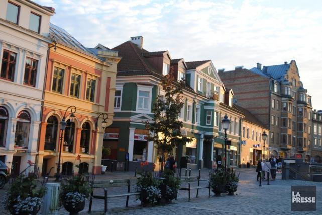La petite ville d'Ystad est le point de... (Photo Laila Maalouf, La Presse)