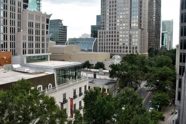 Charlotte, surnommée la «Queen City», est l'une de... (PHOTO LAILA MAALOUF, LA PRESSE)