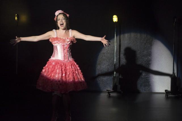 Gabi Epstein dans la comédie musicale Funny Girl,... (PHOTO ANDRÉ LANTHIER, FOURNIE PAR LE CENTRE SEGAL)