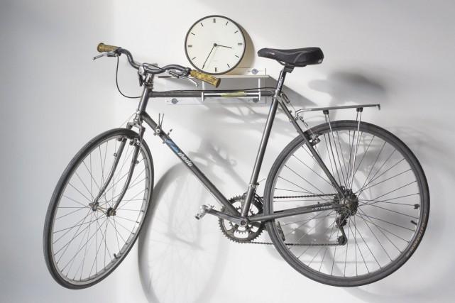 Certains produits comme les porte-vélos sont faits en... (PHOTO FOURNIE PAR L'ATELIER GRIS)