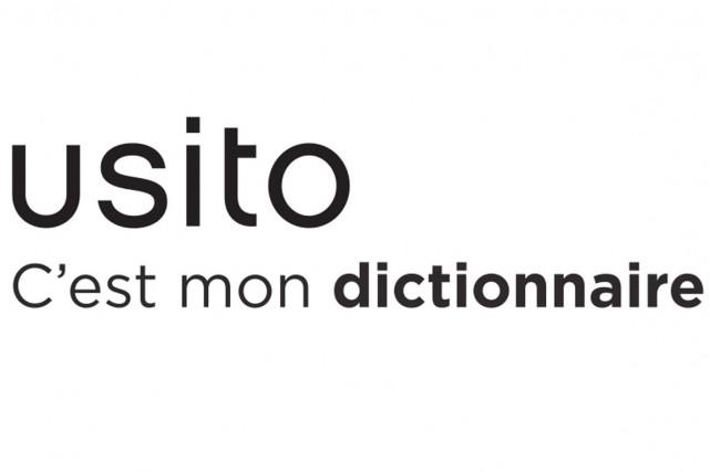 Usito, le dictionnaire nord-américain du français développé à l'Université de... (Photo tirée de Facebook)