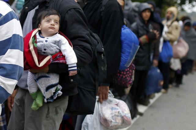 Malgré des nombres précis et contraignants de réfugiés... (Photo Dado Ruvic, Reuters)