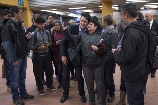 Le nouveau premier ministre Justin Trudeau est allé... (La Presse Canadienne, Paul Chiasson)