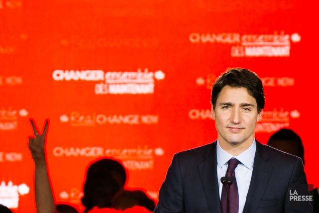 Le nouveau premier ministre du Canada Justin Trudeau.... (PHOTO MARTIN TREMBLAY, LA PRESSE)