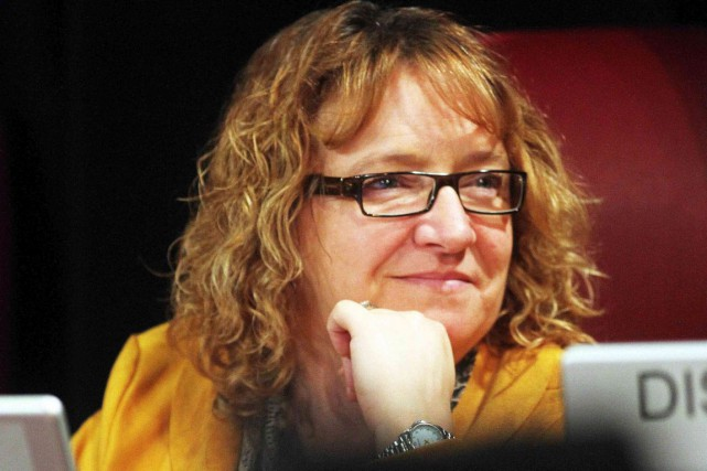 La conseillère Sylvie Goneau.... (Étienne Ranger, Archives LeDroit)