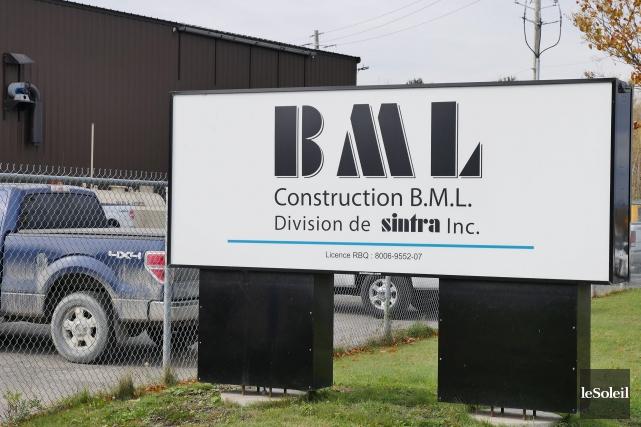 La carrière BML est située dans le secteur... (Le Soleil, Frédéric Matte)