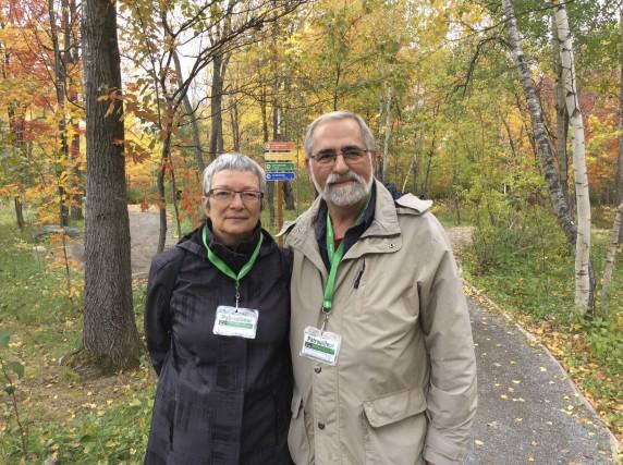 Lise Adam et son mari Yves Guénette, comme... (photo Isabelle Gaboriault)