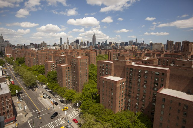Stuyvesant Town-Peter Cooper Village est le plus grand... (Photo Michael Nagle, archives Bloomberg)
