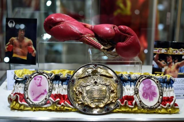 Soixante de ces pièces ont été exposées mardi... (Photo AFP)