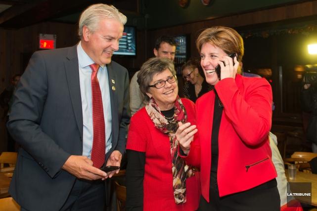 Marie-Claude Bibeau peut légitimement mener une carrière politique... (Imacom, Jessica Garneau)