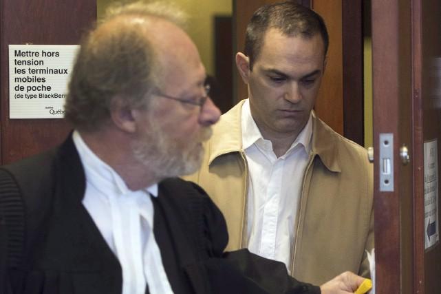 Guy Turcotte au palais de justice de Saint-Jérôme,... (PC, Ryan Remiorz)
