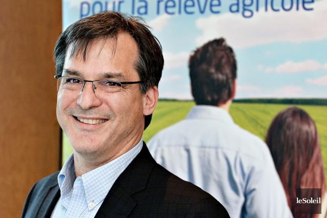 Paul Lecomte, directeur général du Fonds d'investissement pour... (Photo Le Soleil, Patrice Laroche)