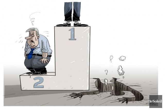 Caricature du mercredi 21 octobre 2015... (Le Soleil, André-Philippe Côté)