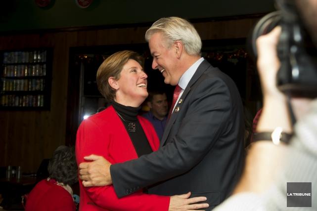 La nouvelle députée de Compton-Stanstead, la libérale Marie-Claude... (Imacom, Jessica Garneau)