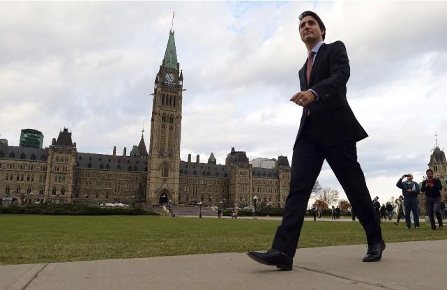 Le nouveau premier ministre du Canada, Justin Trudeau.... (Photo Presse Canadienne)