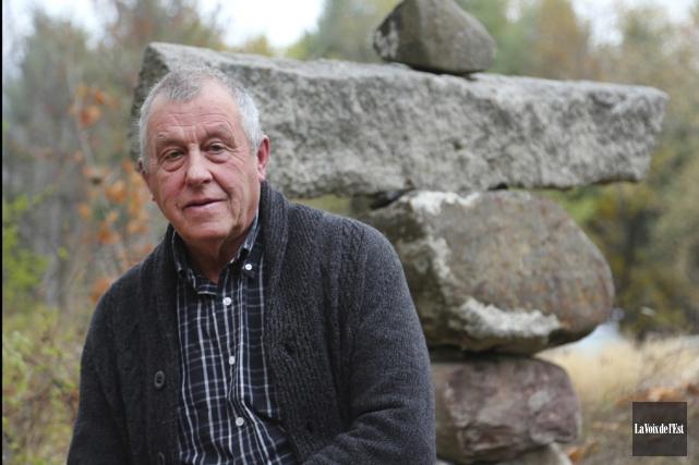 Le maire de Stanbridge Station, Gilles Rioux, a... (Alain Dion, La Voix de l'Est)
